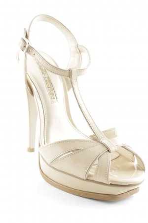 Buffalo Plateau-Pumps creme Party-Look