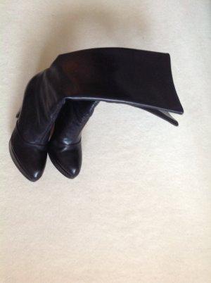 Buffalo London Botas con plataforma negro Cuero