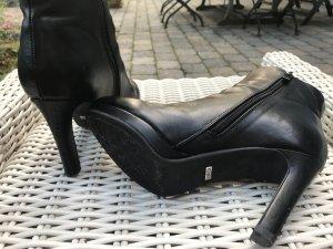 Buffalo Plateau-Stiefelette schwarz / Größe 39 / 3x getragen