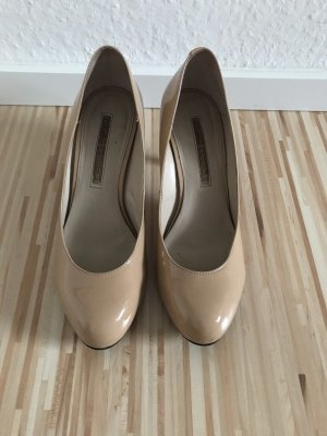 Buffalo London Slingback Pumps nude