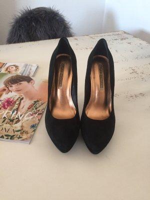 Buffalo London High Heels black imitation leather