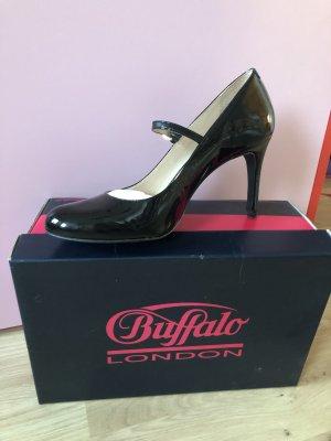 Buffalo Mary Jane pumps zwart