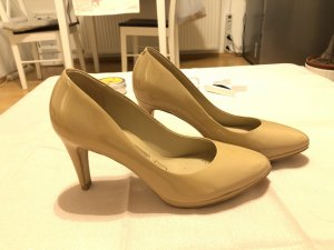 Buffalo pumps high heels beige Größe 36