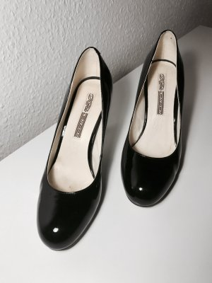 Buffalo Pumps in Lack Schwarz Gr. 37