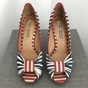 BUFFALO Pumps, Marine-Look, Gr. 38,5