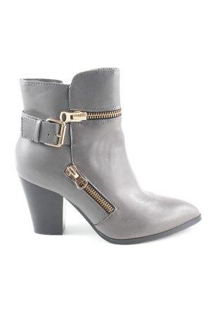 Buffalo Reißverschluss-Stiefeletten grau Elegant