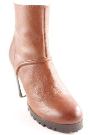 Buffalo Reißverschluss-Stiefeletten schwarz-braun Elegant