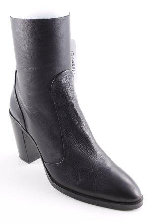Buffalo Stivaletto con zip nero stile casual