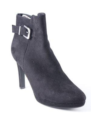 Buffalo Reißverschluss-Stiefeletten schwarz Elegant