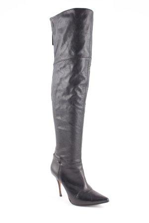 Buffalo Reißverschluss-Stiefeletten schwarz extravaganter Stil