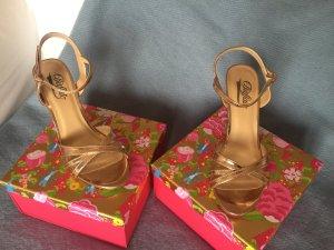 Buffalo Riemchen High Heels, bronze, Gr. 39, neu!!