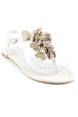 Buffalo Sandalo con cinturino beige stile spiaggia