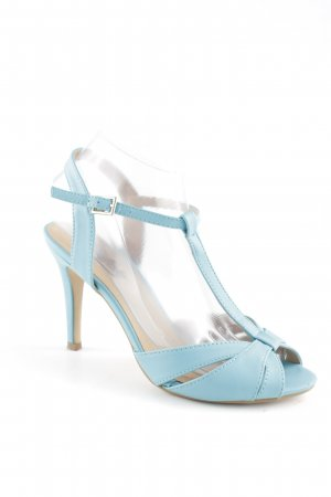 Buffalo Strapped High-Heeled Sandals light blue casual look