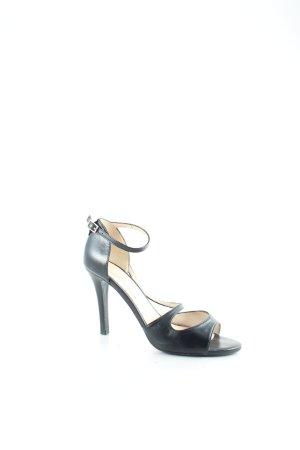 Buffalo Riemchen-Sandaletten schwarz Casual-Look