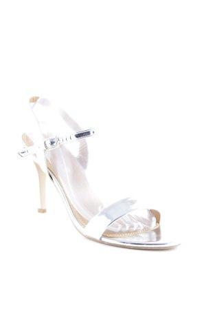 Buffalo Riemchen-Sandaletten silberfarben Elegant