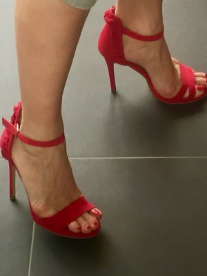 Buffalo Riemchensandalen High Heels Pumps Peep Toes
