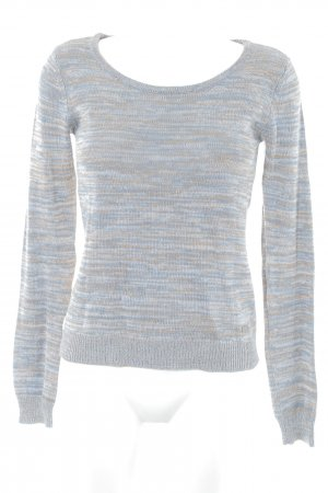 Buffalo Kraagloze sweater gestippeld casual uitstraling
