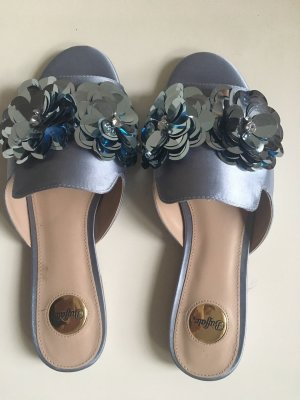 Buffalo Strapped Sandals azure