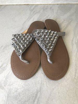 Buffalo Sandalo infradito argento