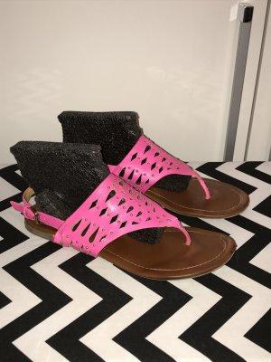 Buffalo Sandalen Gr.41 pink Sandaletten