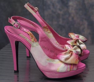 Buffalo Tacones altos rosa