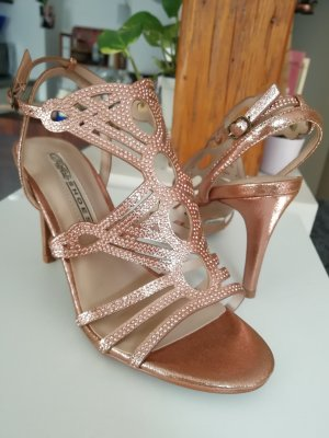 low priced 25ac8 ca289 Buffalo Sandalen High Heels Steinchen
