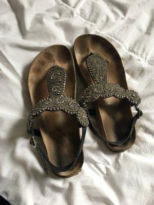 Buffalo Sandalen mit Steinchen