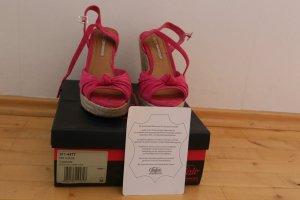 Buffalo Sandalen pink