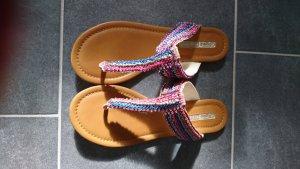 Buffalo Sandalette blau/pink