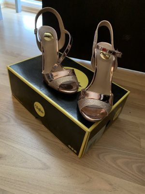 Buffalo High Heel Sandal rose-gold-coloured