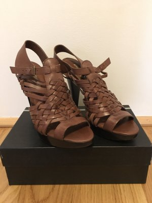 Buffalo High Heel Sandal dark brown