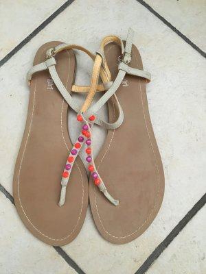 Buffalo Sandaletten beige in Größe 42