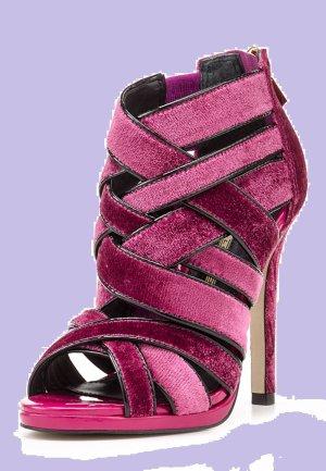 Buffalo Sandaletten Damen Schuhe Fuchsia