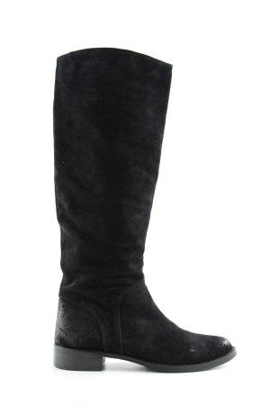 Buffalo Jackboots black classic style