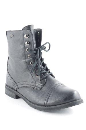 Buffalo Schnür-Stiefeletten schwarz Street-Fashion-Look