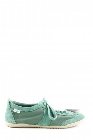 Buffalo Lace-Up Sneaker green casual look