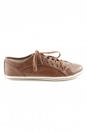 Buffalo Zapatilla brogue marrón look casual