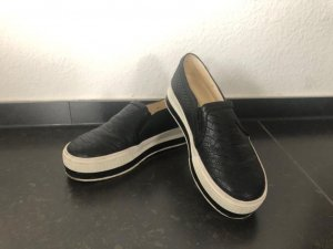 Buffalo Business Shoes black-white