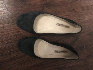 Buffalo Schuhe dunkelblau Wildleder
