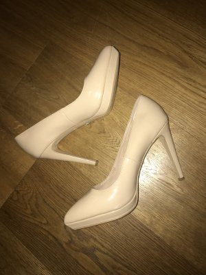Buffalo Schuhe neu 40 Nude High Heels Pumps