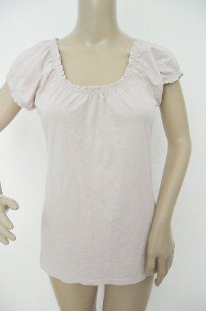 Buffalo T-shirt licht beige-stoffig roze