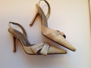 Buffalo slingpumps Satin, Gold Gr.36