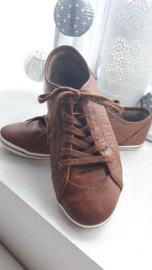 Buffalo Sneaker braun/cognac ❤