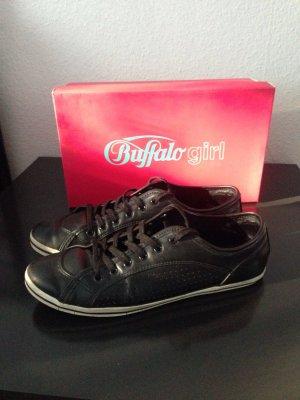Buffalo Sneaker Gr. 42, Schwarz, super bequem