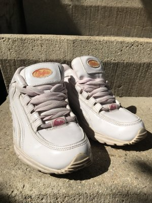 """Buffalo Sneaker  Rave Hipster Lackleder rosé weiß """"ugly shoes"""""""