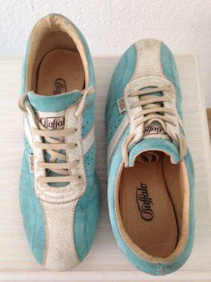 Buffalo Sneaker, türkis-weiß, Gr. 39