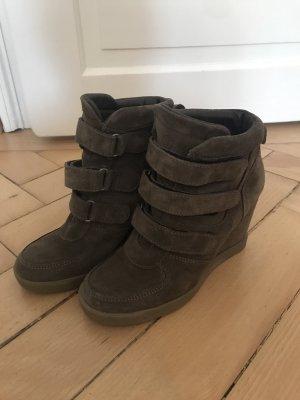 Buffalo Sneaker-Wedges