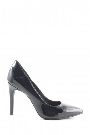 Buffalo Spitz-Pumps schwarz Elegant