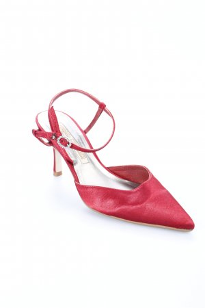 Buffalo Spitz-Pumps rot Eleganz-Look