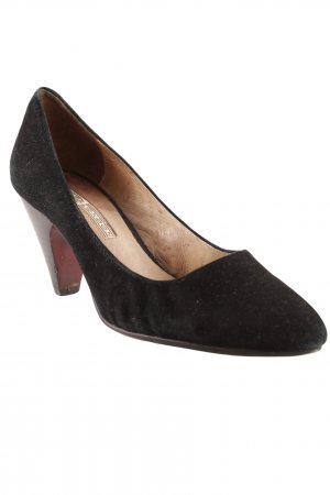 Buffalo Spitz-Pumps schwarz Business-Look